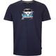Elkline Weitvorn T-Shirt Men blueshadow